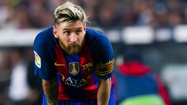 Lionel Messi se reúne con Josep María Bartomeu