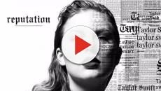 Taylor Swift announced the release of her new album 'Reputation'