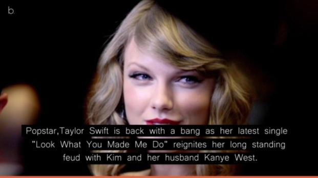 Taylor Swift new single revives feud with Kim and Kanye West