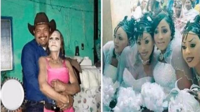 Algumas imagens de pessoas que deveriam ser proibidas de usar maquiagem
