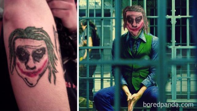 Assista: 9 tatuagens bizarras que não se parecem com a imagem original
