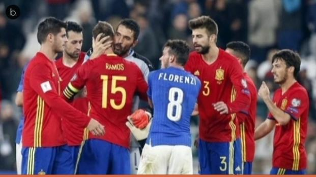 Fútbol: España derrota a Italia