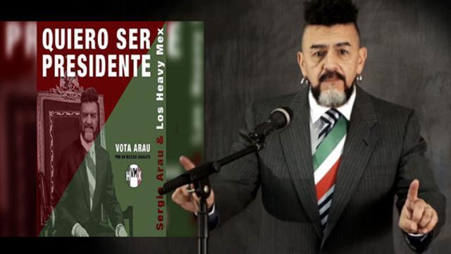 Sergio Arau se destapa y confirma que quiere ser Presidente de México