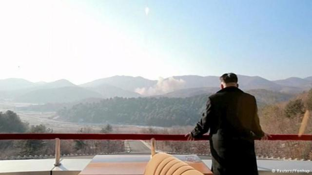 Corea del Norte prepara lanzamiento de misil intercontinental