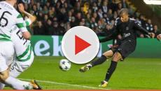 PSG : Un fan du Celtic essaye d'agresser Mbappé en plein match !