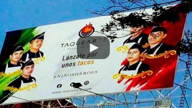 """""""Lánzate por unos tacos"""", ofensa nacional o publicidad"""