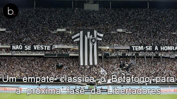 Libertadores: no primeiro jogo, Botafogo e Grêmio empatam