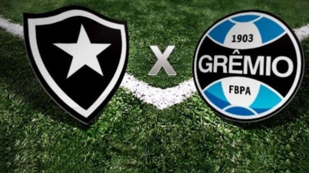 Veja as prováveis formações de Grêmio e Botafogo para o duelo da Libertadores