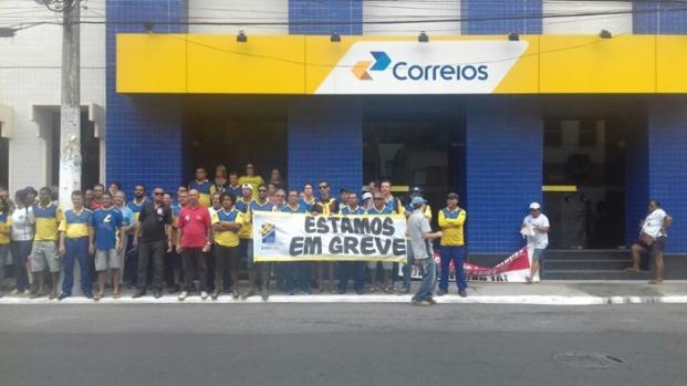 Chega a atingir 20 estados brasileiros a Greve dos Correios