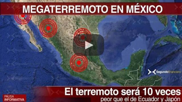 El Terremoto que viene: Los sismos del 19 y 8 de septiembre son sólo el aviso