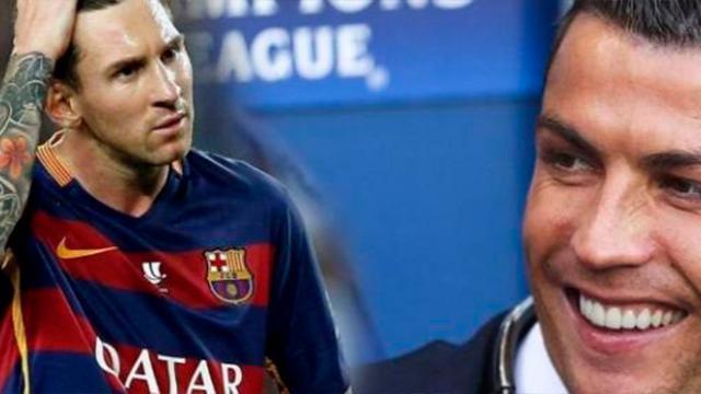Lionel Messi envía un mensaje a Cristiano Ronaldo en Girona