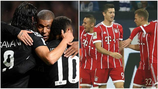 PSG de Neymar y el Bayern se miden en la segunda jornada de la Champions