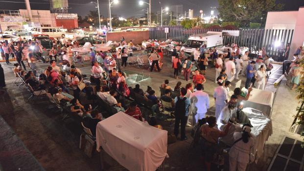 La esperanza de vida persiste después del terremoto en México