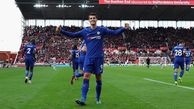 Chelsea vence al Aleti con gol de Batshuayi al 93, en debut del Wanda en UCL