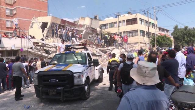 Algunos nombres de responsables de edificios colapsados luego del sismo de 7.1