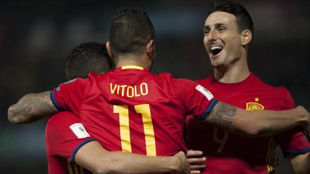 L'Espagne décroche son ticket pour le Mondial 2018