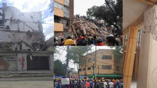 Así se sintió el sismo en diferentes puntos de la Ciudad de México