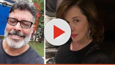 Alexandre Frota insulta a ex Claudia Raia