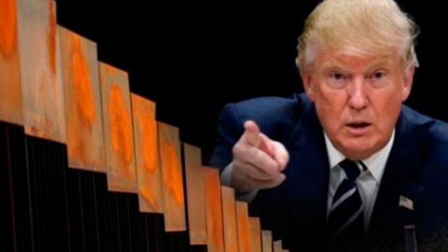 Donald Trump dispone de territorio mexicano, que Peña Nieto vendió