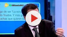 Alfonso Rojo, avergonzado y humillado en su propio programa