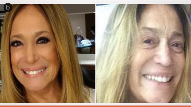 Assista: veja como algumas personalidades se transformam depois de um make up