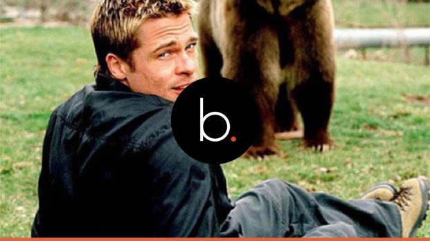 Brad Pitt is dating an Anglina Jolie look-a-like?