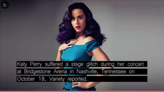 Watch how Katy Perry handled stage glitch in Nashville concert