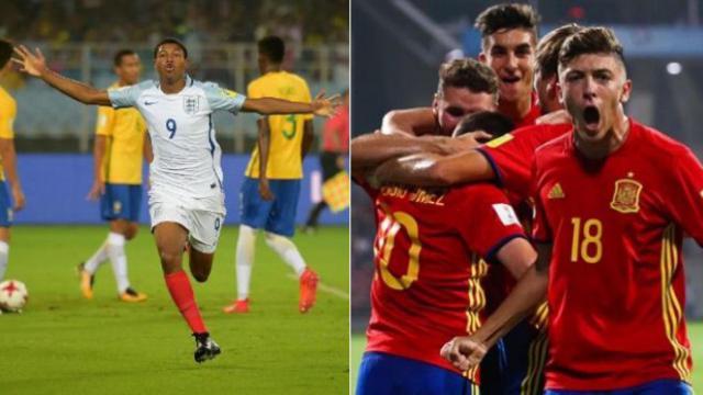 Mundial sub 17: Inglaterra y España lucharán por la copa