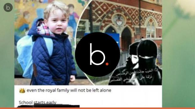 Estado Islâmico ameaça de morte Príncipe George