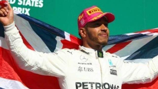 Luis Hamilton campeón 2017 en Fórmula Uno