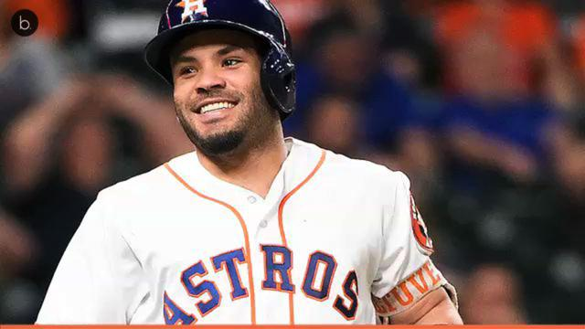 Jose Altuve has himself a day at the World Series