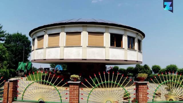 Confira a incrível 'casa giratória'