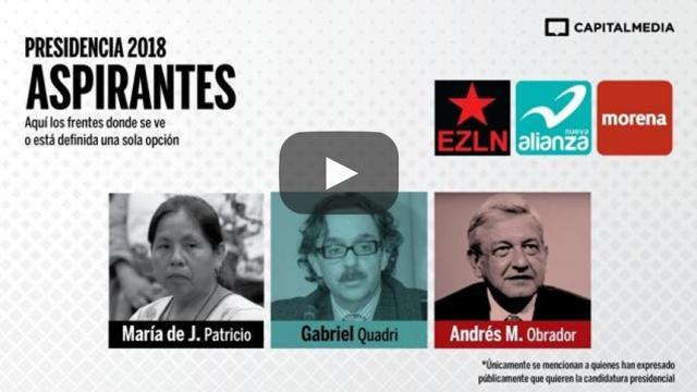 Inicia carrera presidencial en México con registro de independientes