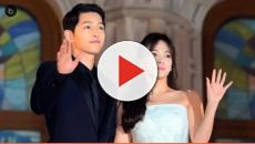 Song Joong-Ki, Song Hye-Kyo spotted in Spain