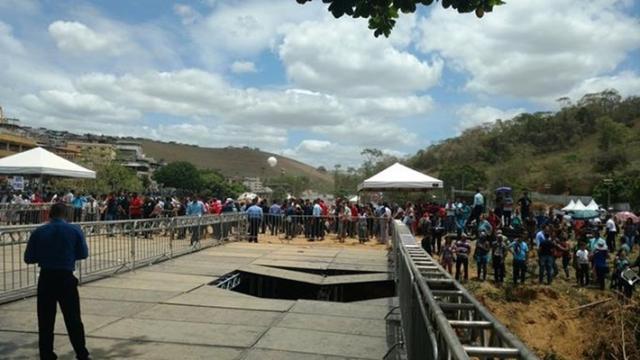 Assista: Um terrível acidente acaba com evento do Pastor Valdemiro Santiago