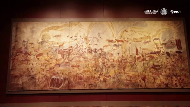 Hasta el 5 de noviembre estará Frobenius, el Mundo del Arte Rupestre en el MNAH