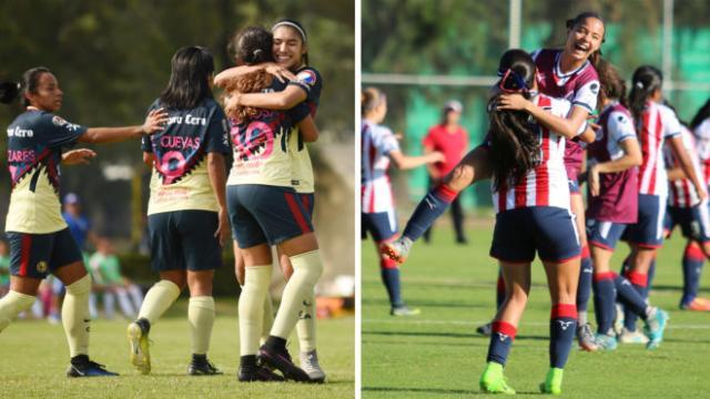 Chivas remonta y gana el primer Clásico Nacional Femenil