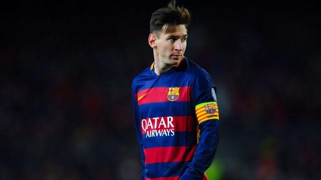Messi obtiene otro record 600 juegos con el Barcelona FC