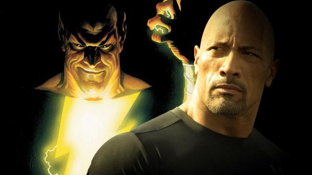 'The Rock' podría aparecer en 'Suicide Squad 2' como Black Adam