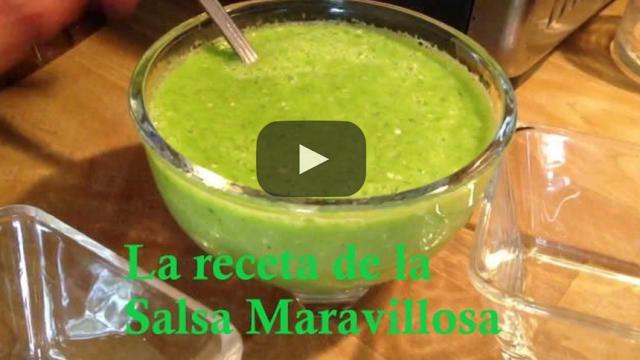 La receta de la Salsa Maravillosa