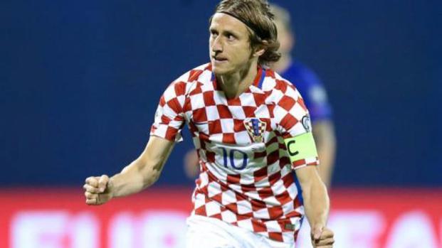 'Coupe du monde' : Luka Modric et la Croatie déroulent