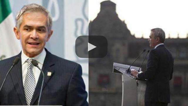 Mancera dice que sí quiere ser Presidente