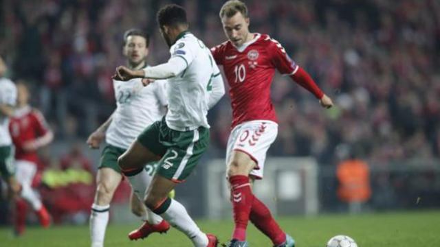 Dinamarca con tres golazos de Eriksen, humilla a Irlanda para ir a Rusia 2018