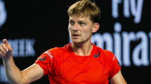 Tennis-Coupe Davis : David Goffin est une vraie menace