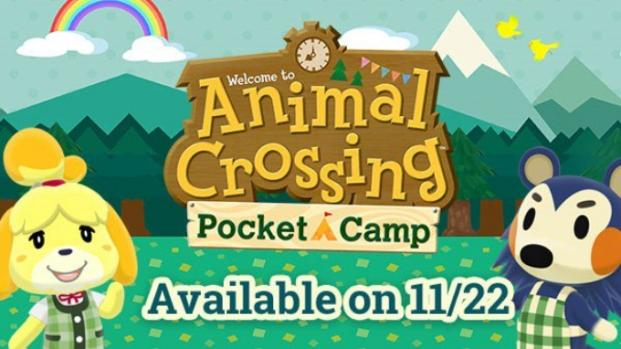 'Animal Crossing: Pocket Camp' is available for download now