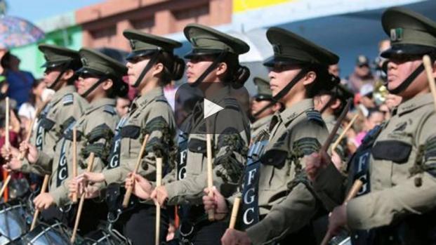 El desfile más largo de la historia de México en Coahuila