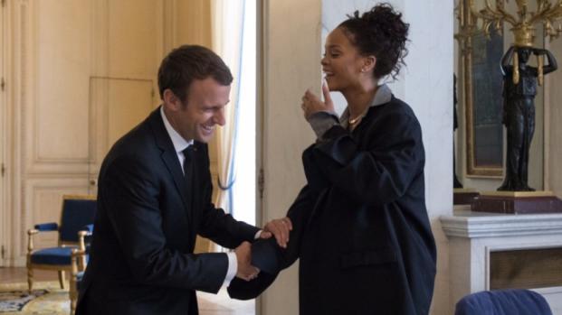 Rihanna en France ... Chez Emmanuel Macron ! Et après ?