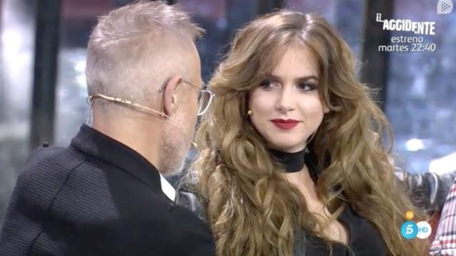 VIDEO: Carlota rompe su silencio con el 'caso José María'