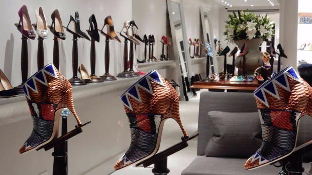 Llega a Madrid la exposición 'Manolo Blahnik: el arte del zapato'