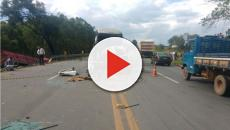 Assista: Grave acidente na BR-040 deixa mortos e feridos
